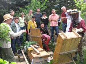 Wesensgemäße Bienenhaltung III: Varroa @ Selbstversorgungsgarten Tharandt | Tharandt | Sachsen | Deutschland