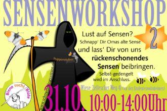 Sensenworkshop 2.0 @ Zellescher Weg | Dresden | Sachsen | Deutschland