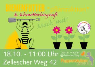 Buddeln für die Bienen @ Zellescher Weg | Dresden | Sachsen | Deutschland