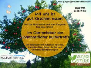 Mit uns ist gut Kirschen essen! @ Johannstädter Kulturtreff e.V. | Dresden | Sachsen | Deutschland
