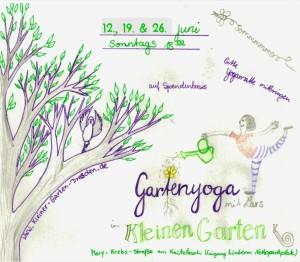 Gartenyoga im Kleinen Garten