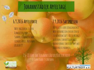 Johannstädter Apfeltage @ Johannstädter Kulturtreff e.V. | Essen | Nordrhein-Westfalen | Deutschland