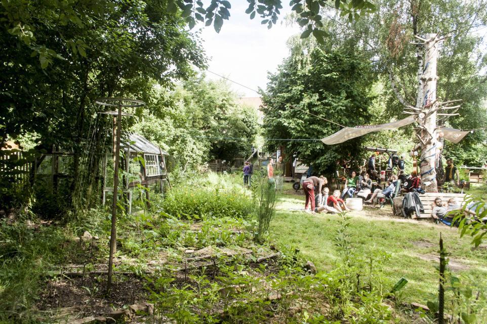Kleiner Garten Strehlen