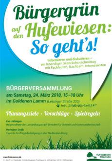 Bürgerversammlung: Hufewiesen als Bürgergrün @ Goldenes Lamm