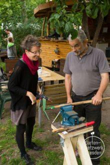 """Workshop """"Bau einer mobilen Garten-Werkbank"""" @ Wurzelwerk Pieschen"""