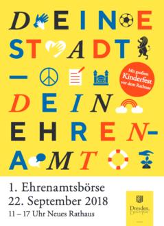 1. Dresdner Ehrenamtsbörse @ Neues Rathaus | Dresden | Sachsen | Deutschland