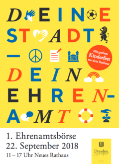 1. Dresdner Ehrenamtsbörse @ Neues Rathaus