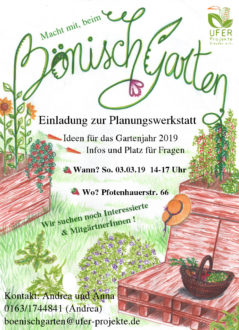 Planungswerkstatt 2019