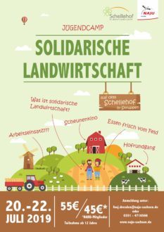 Sommer-FERIEN-Camp: Solidarische Landwirtschaft @ Sternenhof (gehört zum Schellehof)