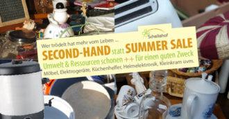 SECOND-HAND statt SUMMER SALE - Trödeln @ Schellehof @ Schellehof (Scheune)