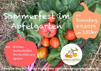 Apfelgarten 🍏 feiert Sommerfest @ Apfelgarten-Strehlen