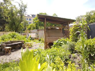 Brot backen im Lehmofen @ Rubikon Garten